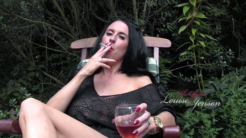 Smoking In The Garden